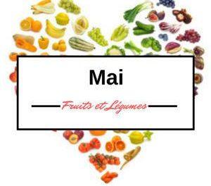 Calendrier des fruits et légumes en mai