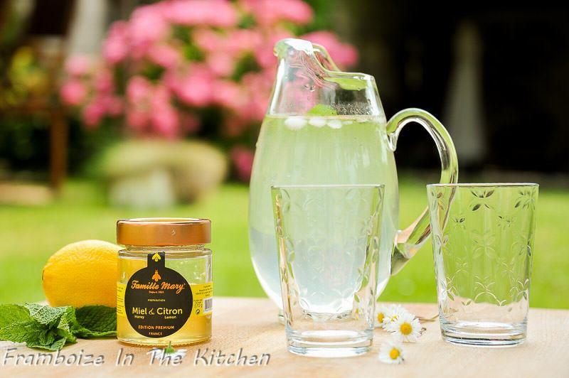 Citronnade au miel