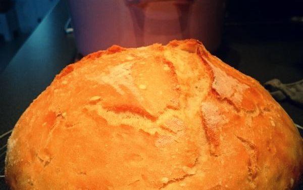 Mon premier pain en cocotte