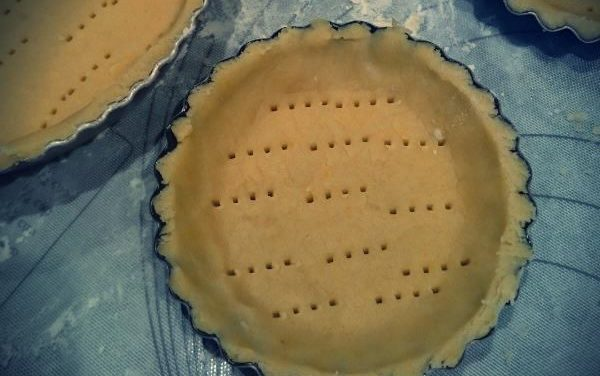 La pâte sablée salée