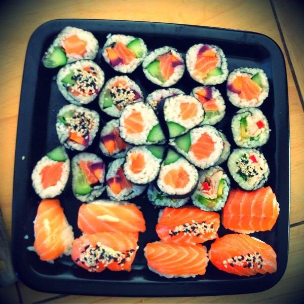 Mes sushis : Nigiris et Makis