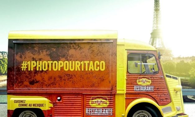 Food Truck Old el Paso Restaurante à Paris en Octobre