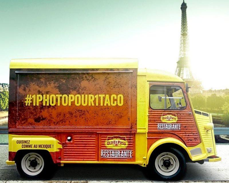 Food Truck Old el Paso Restaurante à Paris en Octobre