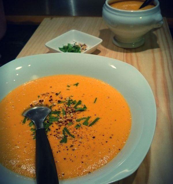 Velouté de carottes, simple et detox