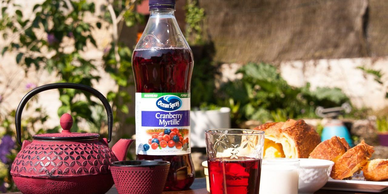 Ocean Spray, my vitality routine