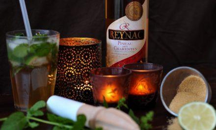 Cocktail : Pineaujito. Le mojito au Pineau des Charentes