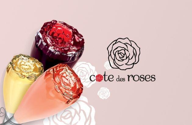 cote des roses, 3 couleurs