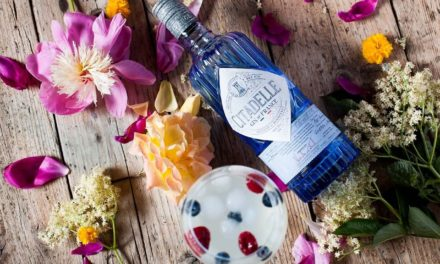 Cocktail: Gin to 'with elderflower syrup with Citadelle Gin