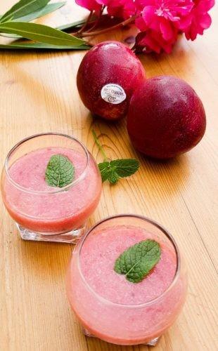 délicieux Gaspacho de nectarine sanguine