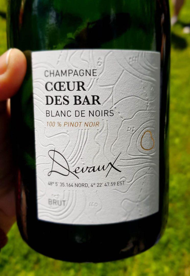 Coeur des bar Champagne Devaux
