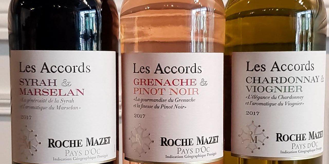 Roche Mazet, les bi-cépages 2018