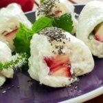 Maki au lait de coco et nectarine sanguine