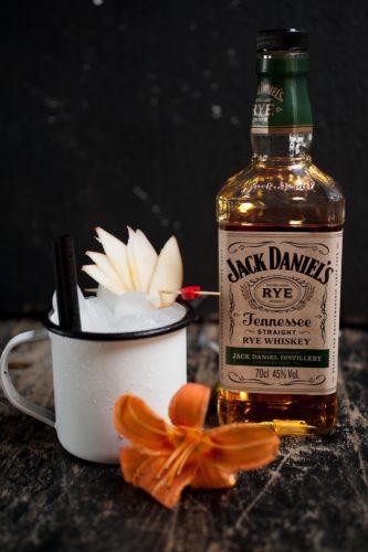 cocktail au Jack Daniel Rye