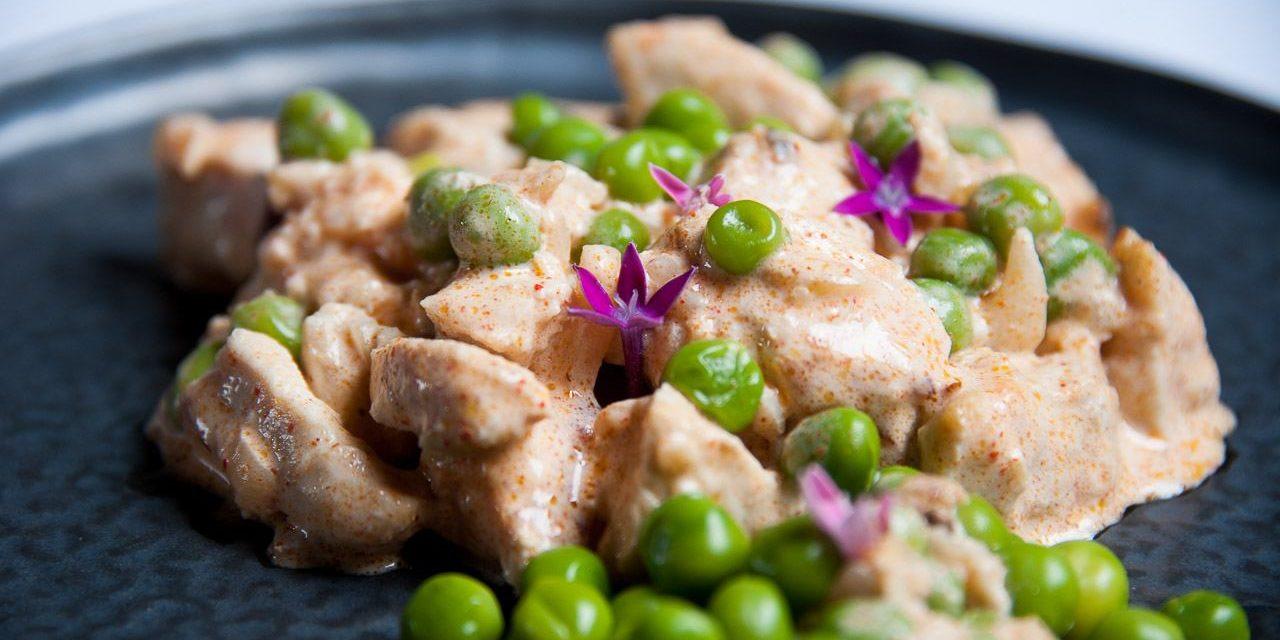 Micro Pro Grill : poulet à la crème et moutarde au curry