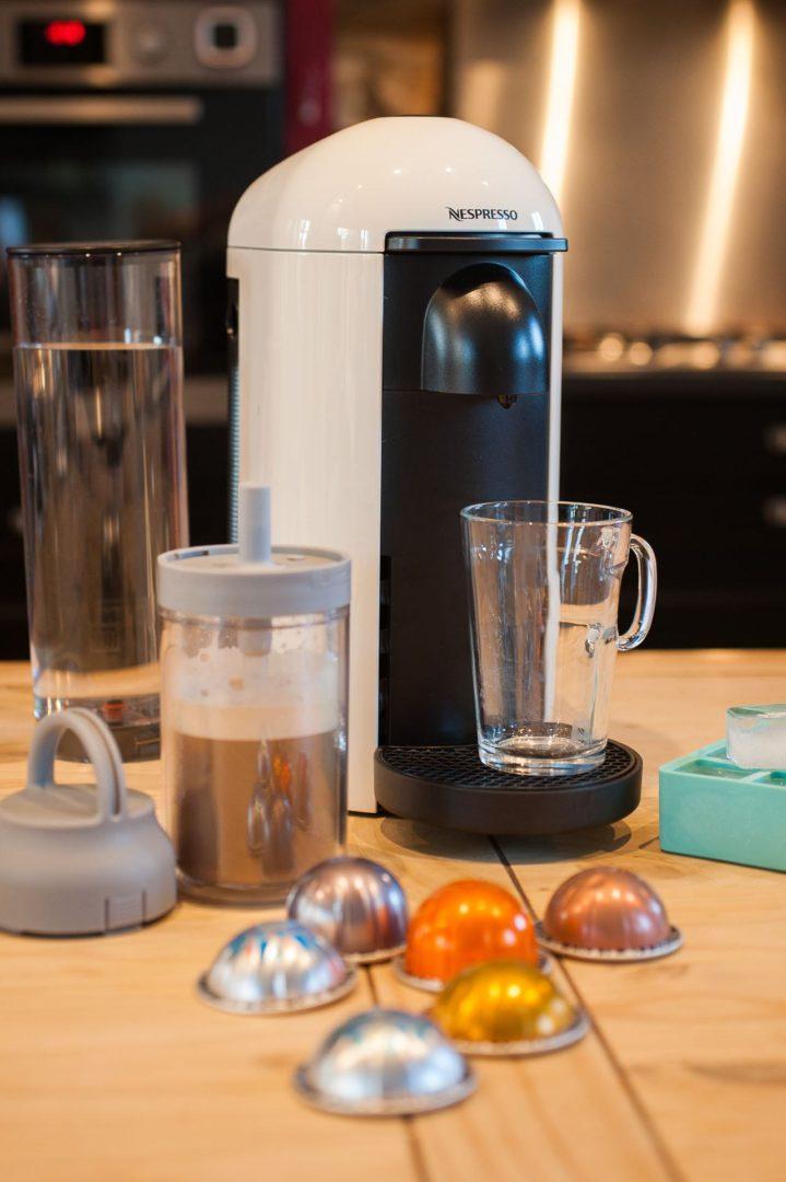 Café glacé avec Vertuo Nespresso