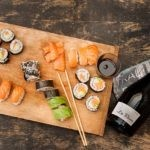 Champagne, Sushis et Makis