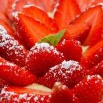 Tarte aux fraises Ciflorette Label Rouge