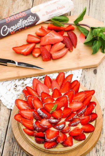 Tarte fraises ciflorette