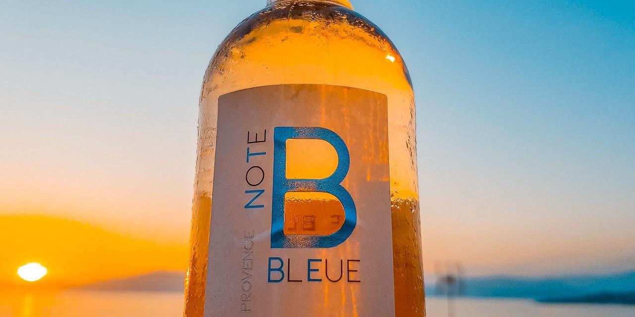 Rosé de Provence : La Note Bleue