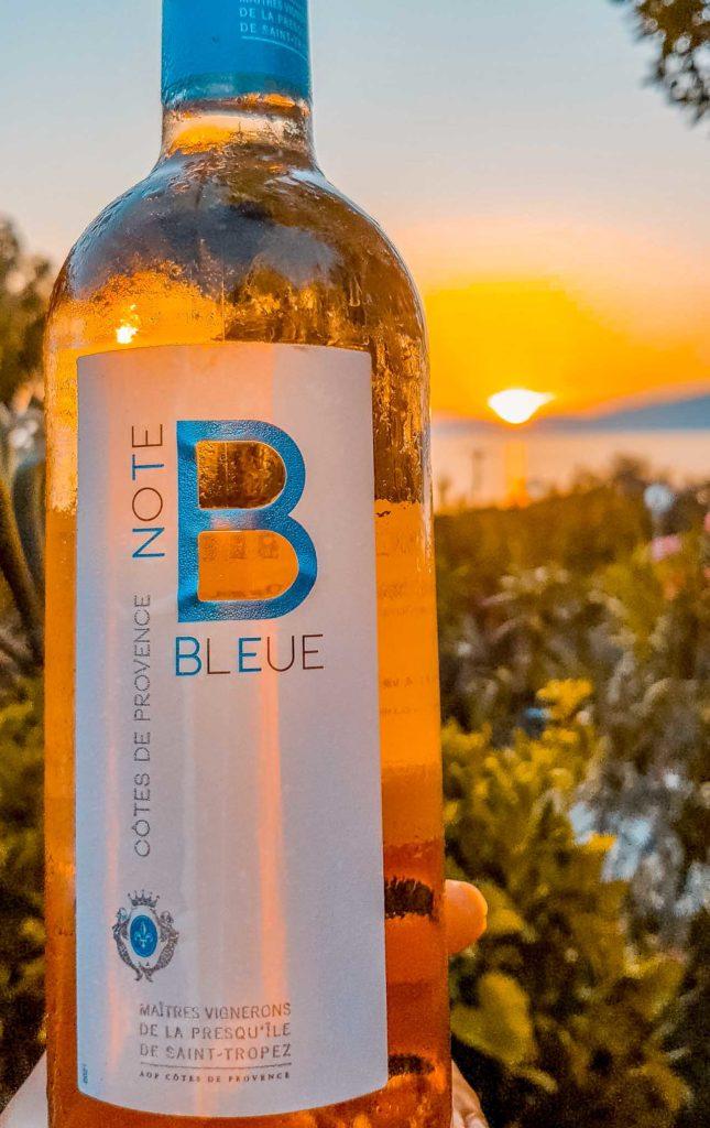 Vin rosé de Provence, la Note Bleue
