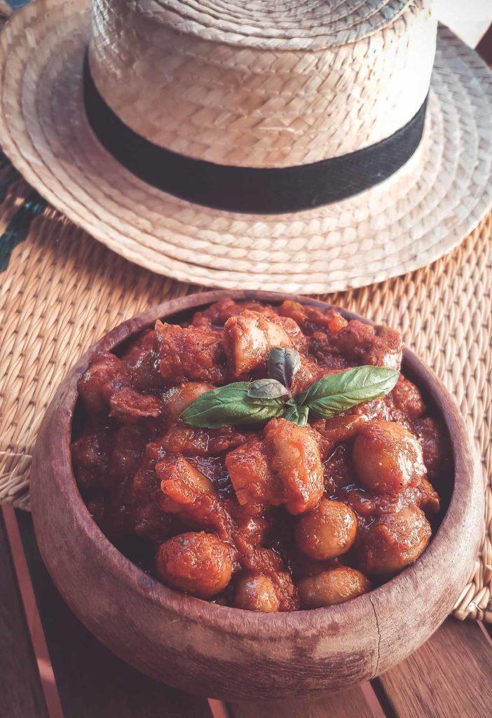 champignon à la grecque à ma façon au cookéo