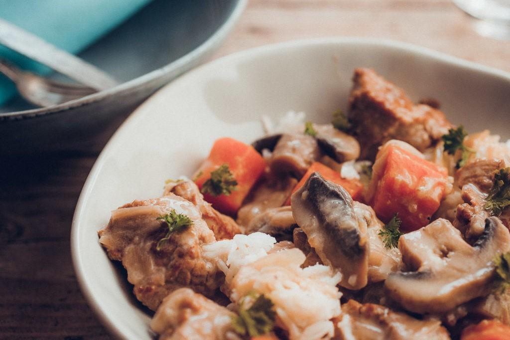 Blanquette de veau sans gras au cookéo