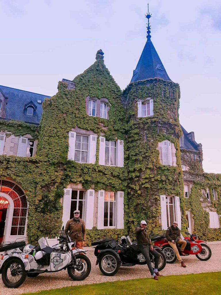Château Lascombes et nos pilotes du Retro Tour