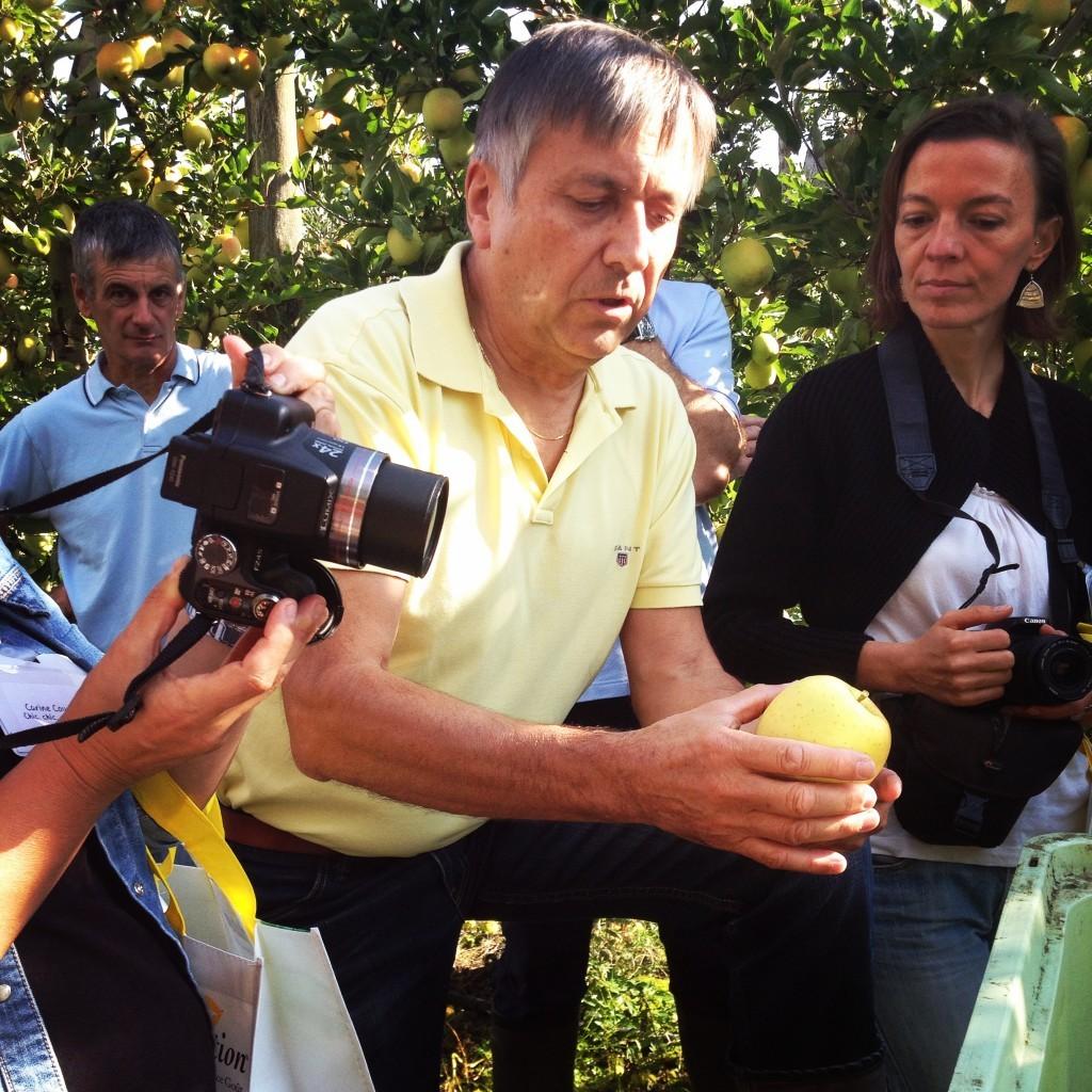 Monsieur Bernard Bagault, l'amoureux des pommes