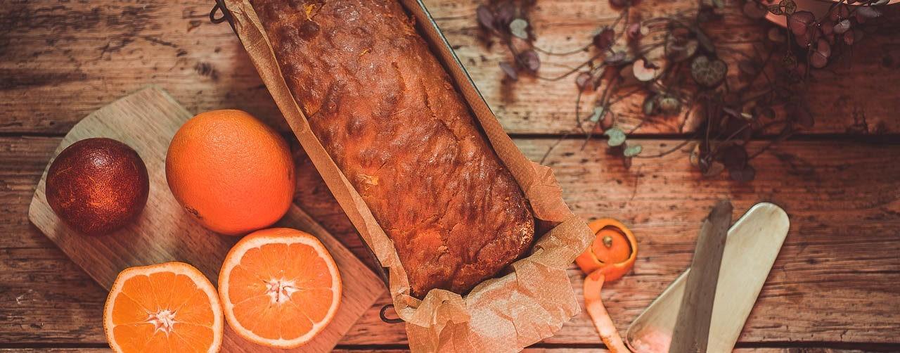 Cake à l'orange allégé