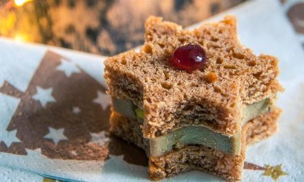Etoiles de foie gras et de pain d'épices