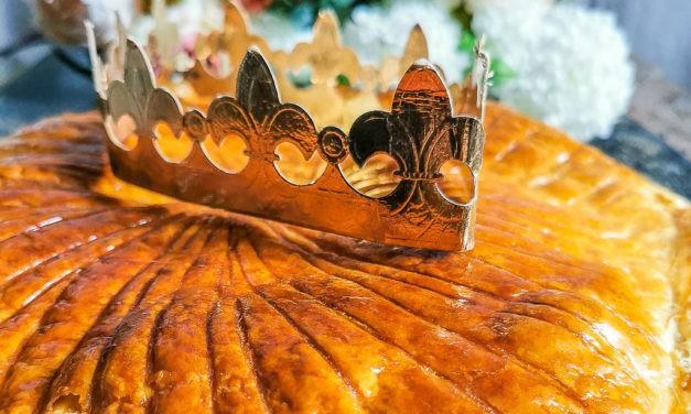 Galette des rois à la crème d'amande