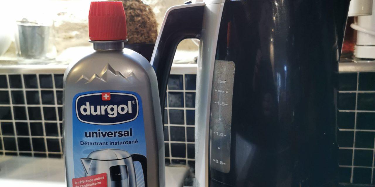 J'ai testé l'anti calcaire DURGOL