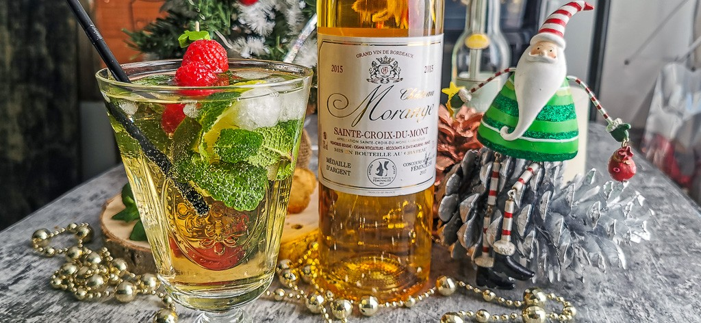 Sweet'jito, cocktail avec un Sweet vin de Bordeaux