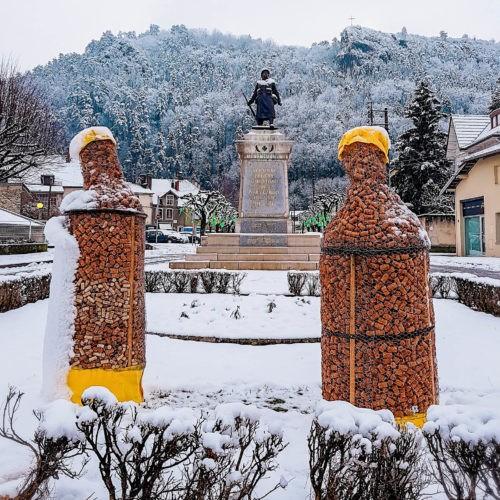 Décor de la percée du vin jaune en 2019