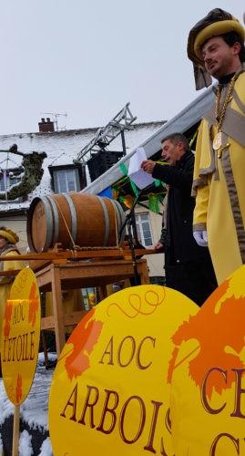 Discours officiel de la percée du vin jaune