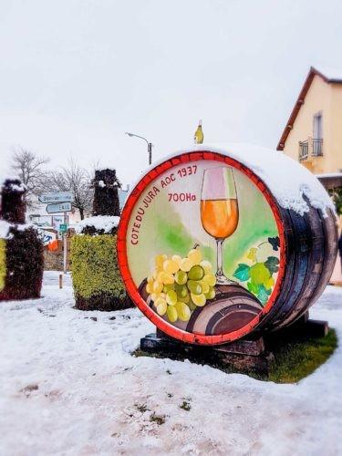 Poligny, en 2019
