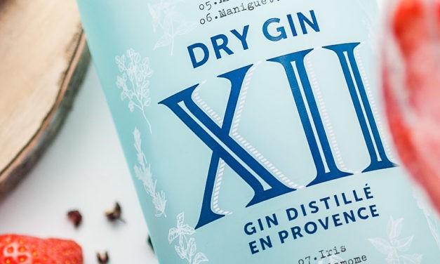Cocktail : Gin XII, tonic, poivre et fraises