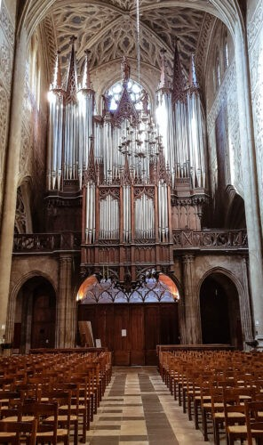 Chambery cathedrale et orgue