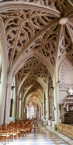 Chambery cathédrale et trompe l'oeil
