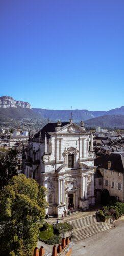 Chambery chateau duc de savoie vue de la tour