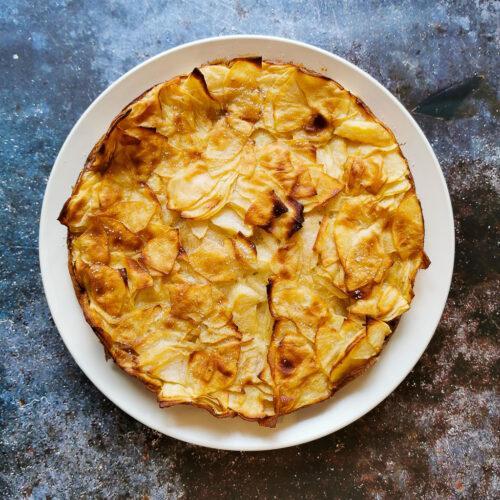 délicieux gâteau allégé aux pommes